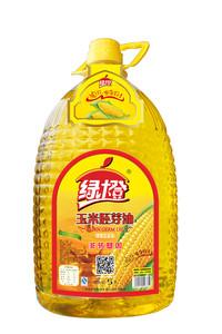 绿橙玉米胚芽油5L玉米油胚芽油调和油