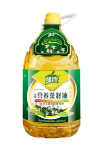 绿橙营养茶籽油5L茶籽油山茶油调和油